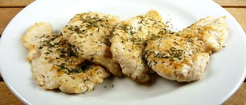 Chicken breast with thyme normal dose