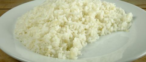 Steamed rice normal dose